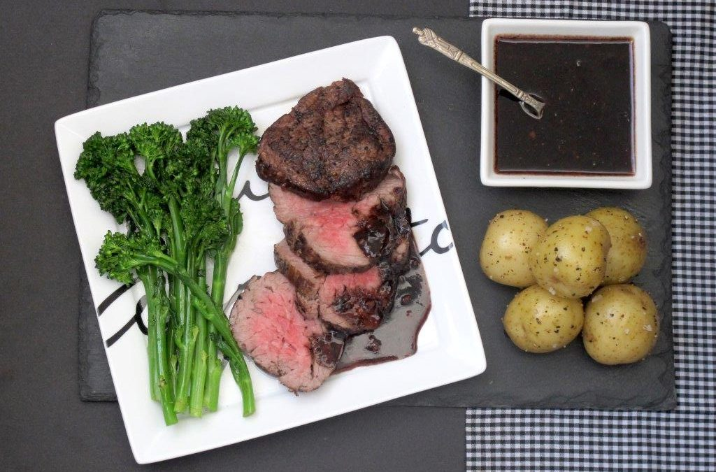 Fillet Steak with a Rich Balsamic Glaze