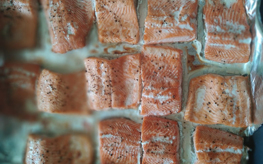 Preparing fish the healthy way