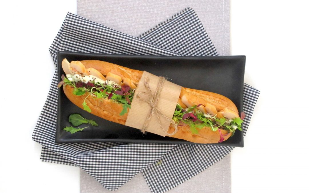 Smoked Chicken Baguette